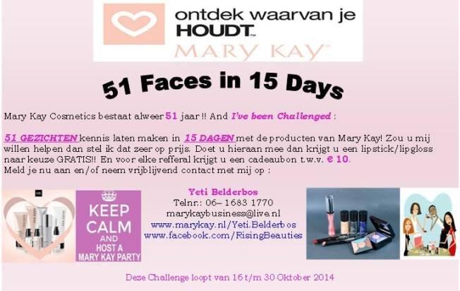 51 faces