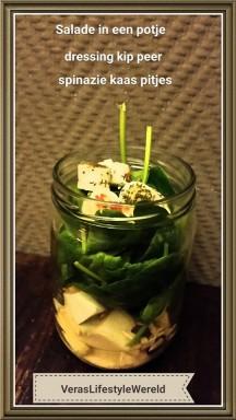 2016-2 salade in een potje